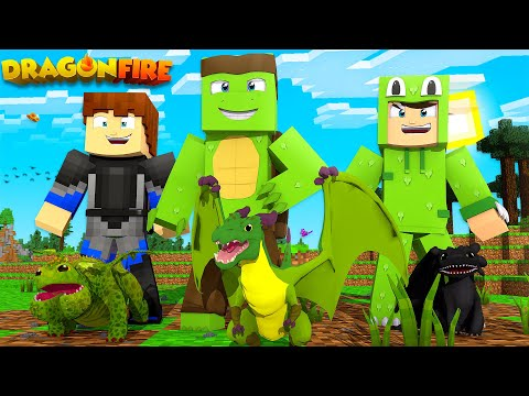 OFFICIAL DRAGONFIRE MOD LET'S PLAY #1 - OUR FIRST DRAGONS!