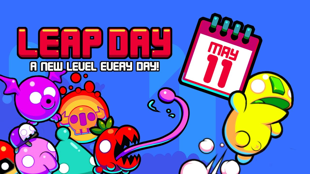 'Leap Day' is a New Nitrome Platformer with a New Level Every Day