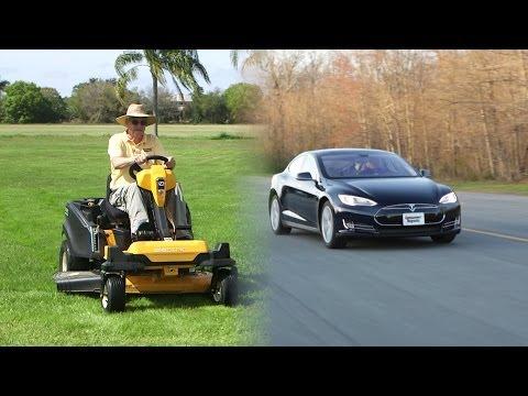 Tesla of lawnmowers? Meet Cub Cadet's RZT S 42 | Consumer Reports