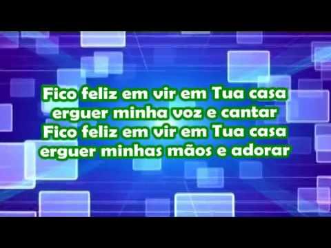 Aline Barros - Fico Feliz - Karaoke