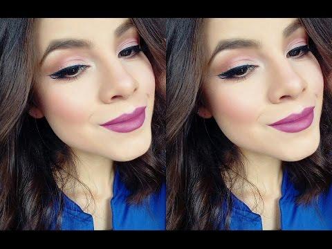 Maquillaje con productos nuevos