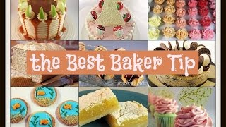 Best Baker Tip #13 ~ Swirled Icing Techinique by Gretchen's Bakery