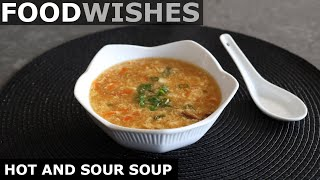 Hot and sour soup - make at home recipe