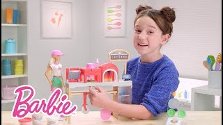 Video Barbie® Pizza Chef Demo | Barbie MP3, 3GP, MP4, WEBM, AVI, FLV Mei 2018