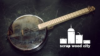 Download Lagu DIY 2 string musical instrument, from an oven pan ( panjo ) Mp3