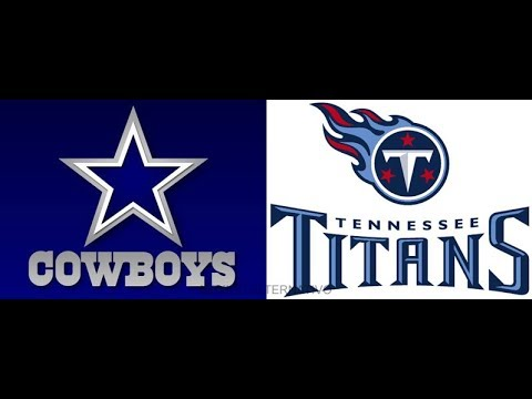 Cowboys vs Titans - Full Game - 1st Quarter - 09/14/2014