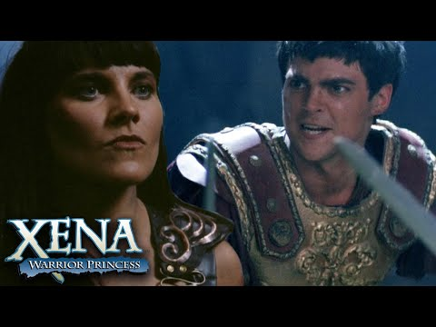 Xena Tricks Pompey and Caesar Into a Battle | Xena: Warrior Princess