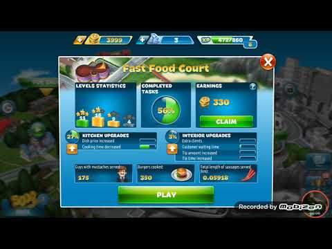 Cooking Fever New Game Play And Review