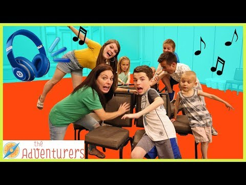 Extreme Musical Chairs - First To Sit Wins / That YouTub3 Family