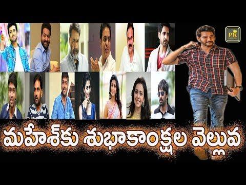 Celebrities Birthday Wishes to Superstar Mahesh Babu  #HBDMaheshBabu  #MAHARSHI  PK TV