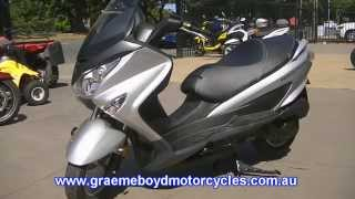 9. SUZUKI BURGMAN 200 overview and review (Australia)