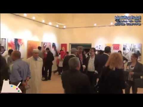 إفتتح المعرض الأول لملتقى قصبة الفنان الدولي
