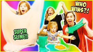EPIC SLIME!!  FAMILY SHOW-DOWN!! / SmellyBellyTV