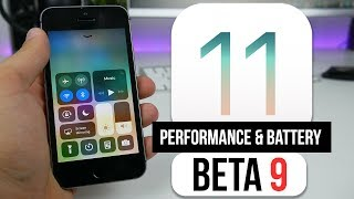 iPhone 5s IOS 11 Beta 9 Review / Stability, Performance & Battery life