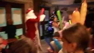 Зубренок, зима 2015, кафе «Лидо» (видео №5)