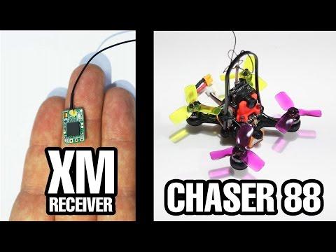 Probando el Eachine Chaser 88 y FrSky XM