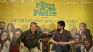 """""""Un Padre No Tan Padre"""": Entrevista con Benny Ibarra y Héctor Bonilla"""