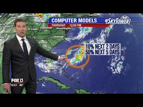 Tropical weather forecast: July 12, 2018