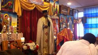 Ethiopean Orthodox Tewahdo Medhanialem Cherch Siwtzerlan Geneva Sbket Aba Haylegorigis