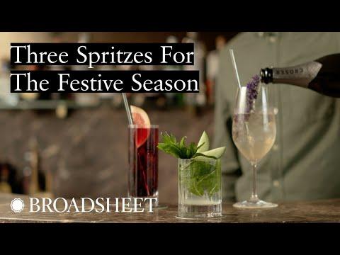 The Gidley's Jono Carr Creates Three Spritzes For The Festive Season