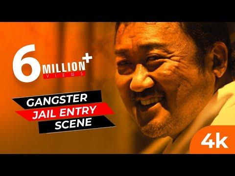 Gangster Jail Entry Scene (4K60fps) - Donlee | TheGangster TheCop TheDevil Movie | Saaho Bgm