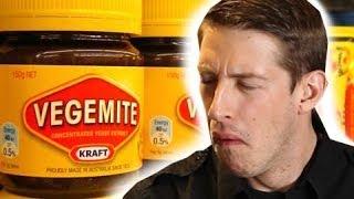 Americans Taste Test Australian Food