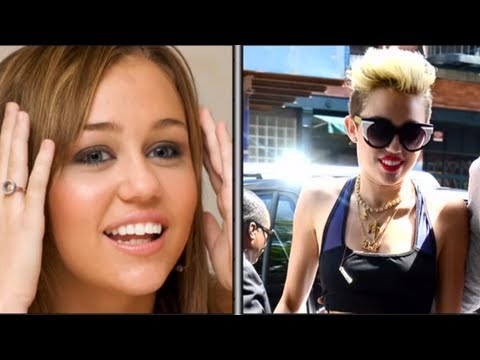 Miley Cyrus: Then & Now