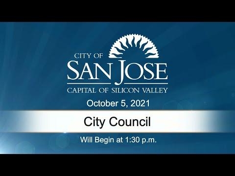 OCT 5, 2021 | City Council Meeting