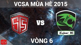 [30.05.2015] SF5 vs SBC [VCSA Mùa Hè 2015], fifa online 3, fo3, video fifa online 3
