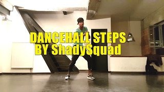 Here are some Jamaican dancehall steps. All created by the Jamican Dance crew Shady Squad. Danced by Matthew Richards of Shady Squad