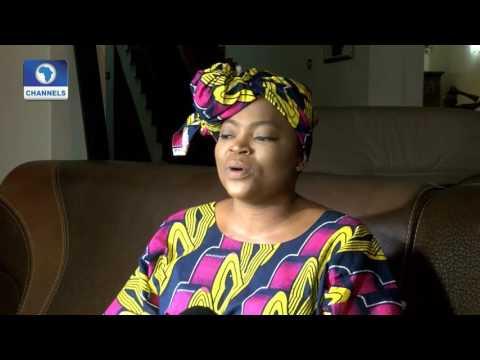 EN: Funke Akindele Goes On Set As Fans Debate 'TWIN' Pregnancy