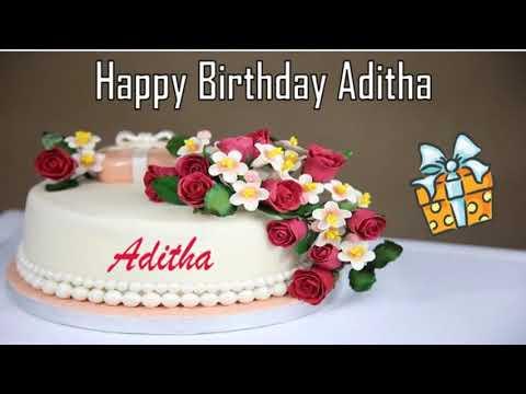 Happy birthday quotes - Happy Birthday Aditha Image Wishes