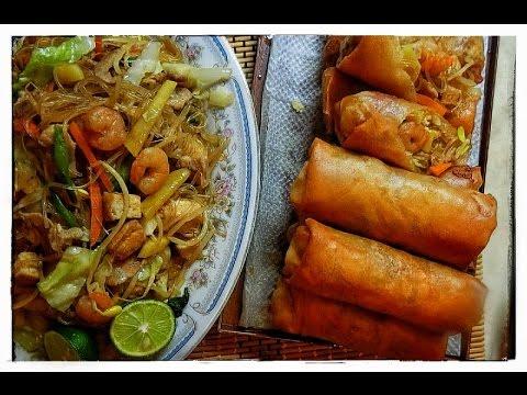 Lumpiang Togue with Sotanghon /Luweeh's Kitchen
