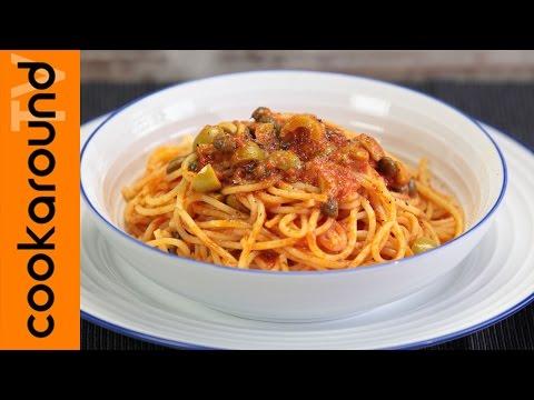Spaghetti alla vesuviana / Ricette primi piatti
