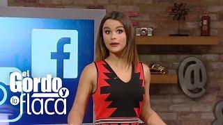Clarissa Molina tiene un tatuaje pero en un lugar muy escondidito