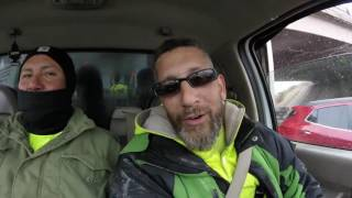 simon and cunado were in my truck, and i tried to get them getting down to dubstep, oncee they saw the camera go up they stopped..