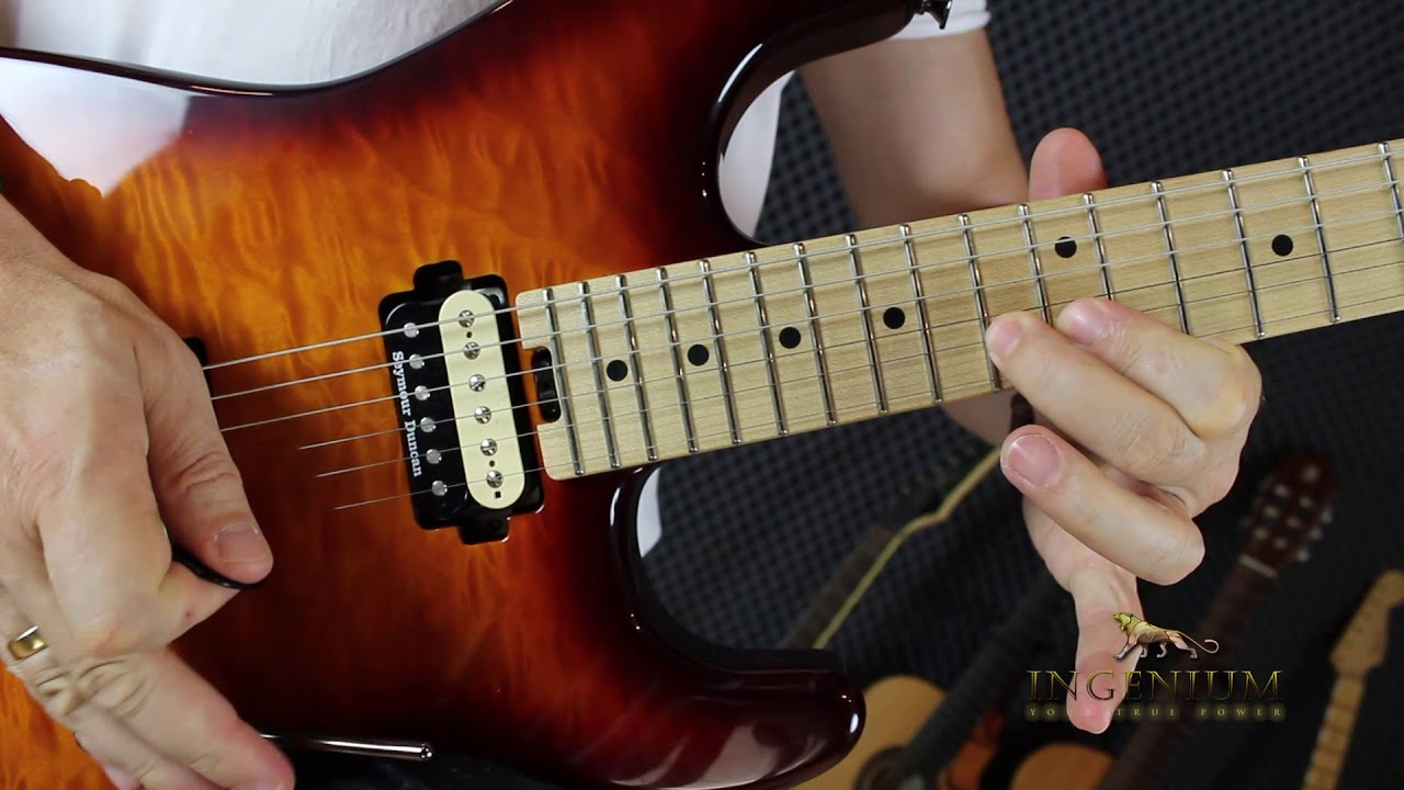 Three scales in one – Guitar mastery lesson