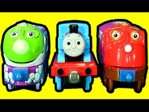 Chuggington Toy Review and HO Wheel Conversion.
