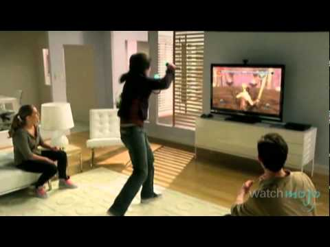 xbox360 - Join http://www.WatchMojo.com as we go hands on with Microsoft's Kinect and Sony's PlayStation Move to see which is the better and more exciting piece of mot...