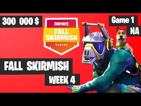 Fortnite Fall Skirmish Week 4 Game 1 NA Highlights (Group 2) - Big Bonus [POACH - 9 KILLS]