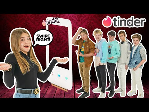 TINDER IN REAL LIFE! My CRUSH Reacts to Dating Game **HE CHEATS** 🔥💔| Piper Rockelle
