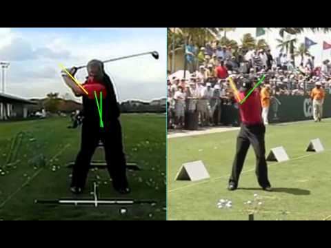 Free Online Golf Lesson –  Tiger Woods Golf Backswing at the Top