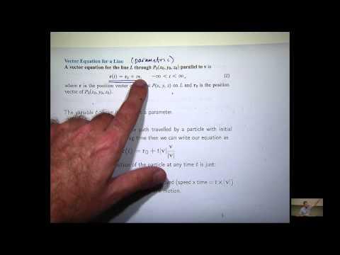 Kurven und Vektor-Funktionen