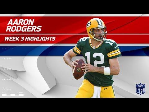 Video: Aaron Rodgers Highlights vs. Cincinnati | Bengals vs. Packers | Wk 3 Player Highlights
