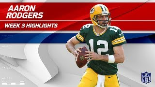 Aaron Rodgers Highlights vs. Cincinnati | Bengals vs. Packers | Wk 3 Player Highlights by NFL