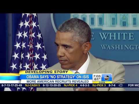 Abc - ABC: Obama's Lack Of ISIS Strategy