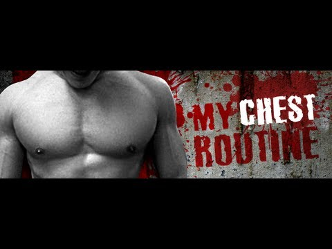 chest - (0:14)- Routine Sets & Reps (1:09)- Dumbbell Chest Press (1:30)- My Tricks: Dumbbell Chest Press (4:58)- Dumbbell Incline Chest Press (5:20)- My Tricks: Dumb...