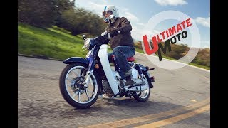 1. 2019 Honda Super Cub C125 ABS First Ride Review | Ultimate Motorcycling