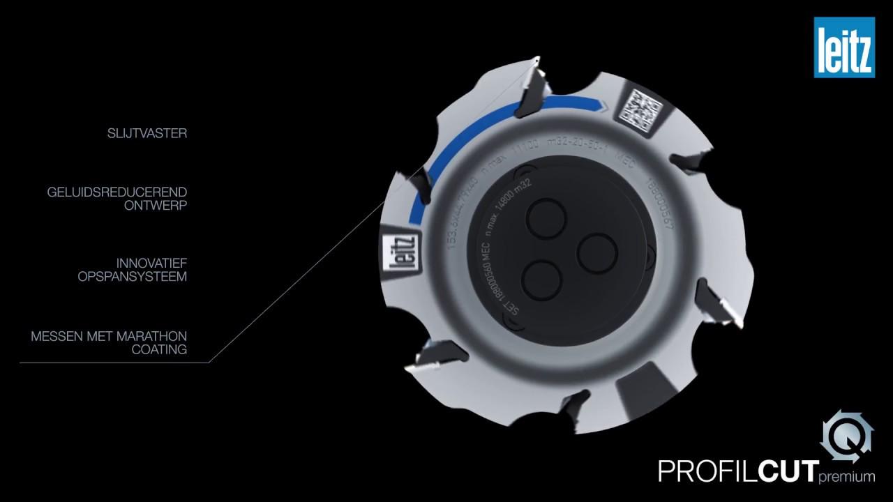 ProfilCut Q Premium van Leitz: het snelste profielgereedschap systeem in de branche