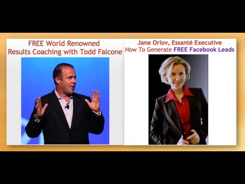 Jane Orlov shares stage with and interviews Todd Falcone Network Marketing Guru once again! 3rd time